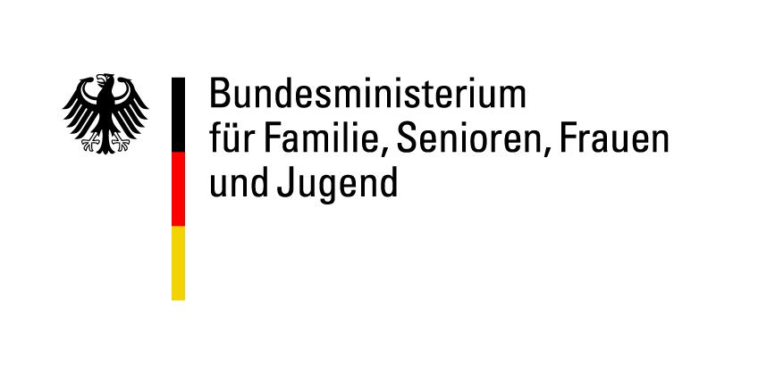 Logo Bundesministerium für Familie, Frauen und Jugend