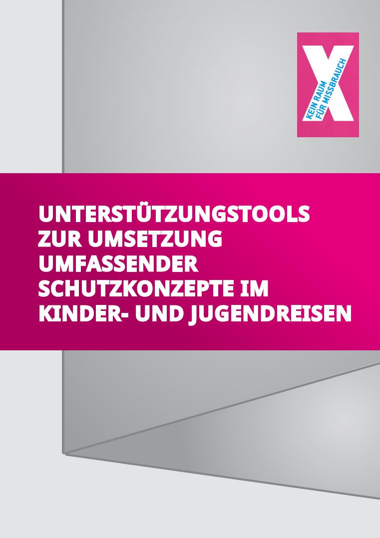 Abbildung der Titelseite der Handreichung-Schutzkonzepte