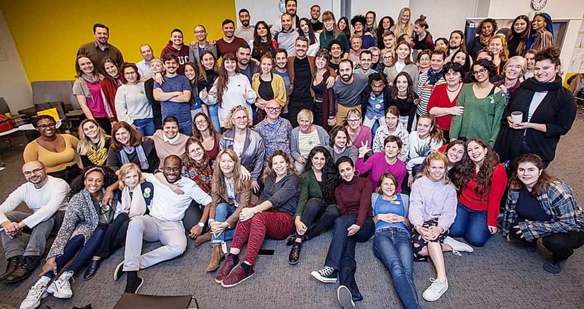 Gruppenbild aller Teilnehmer