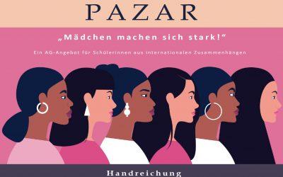 """Handreichung zum Projekt """"Pazar – Mädchen machen sich stark!"""" erschienen!"""